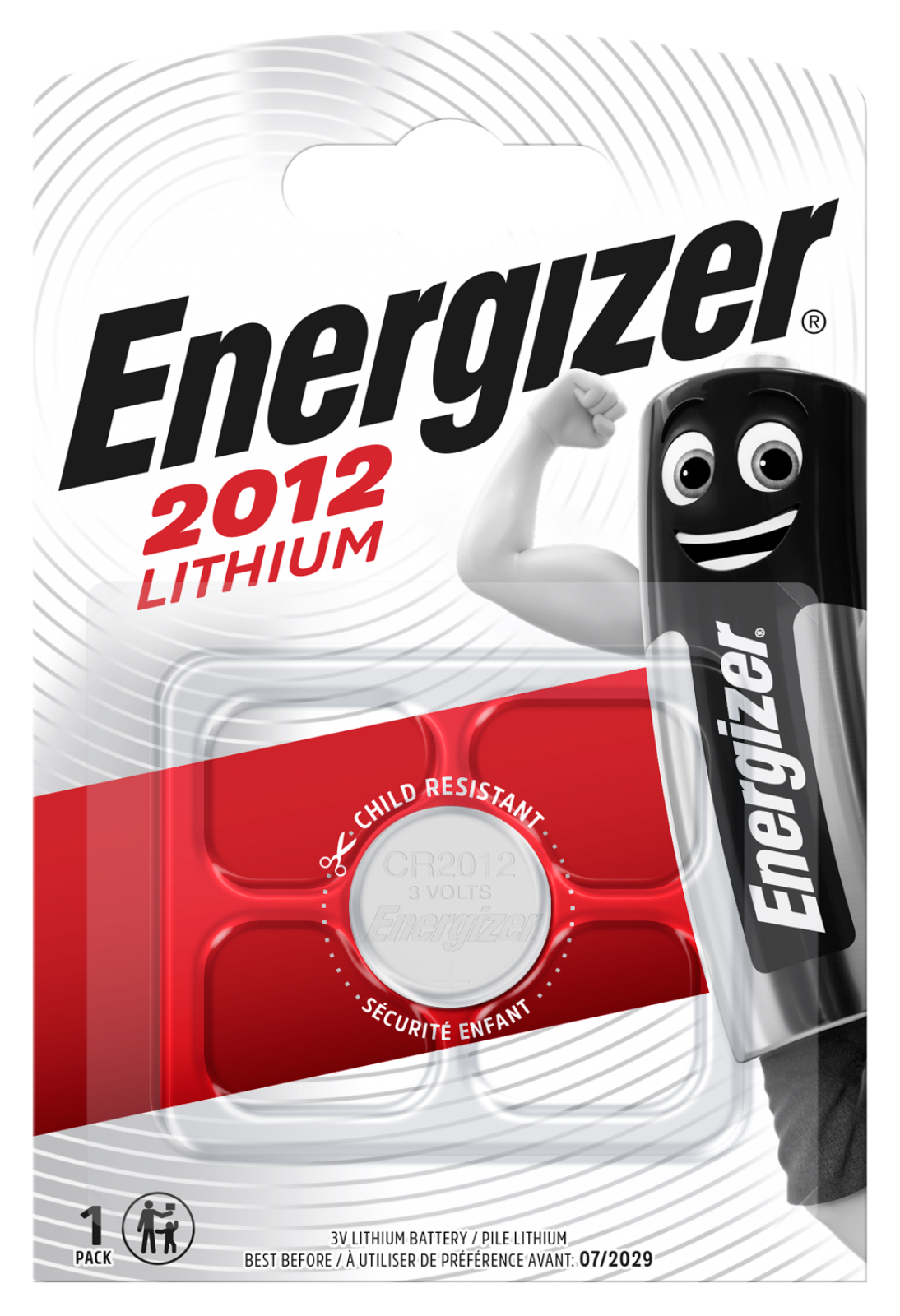 1x energizer lithium batterie cr 2012 3v knopfzelle. Black Bedroom Furniture Sets. Home Design Ideas
