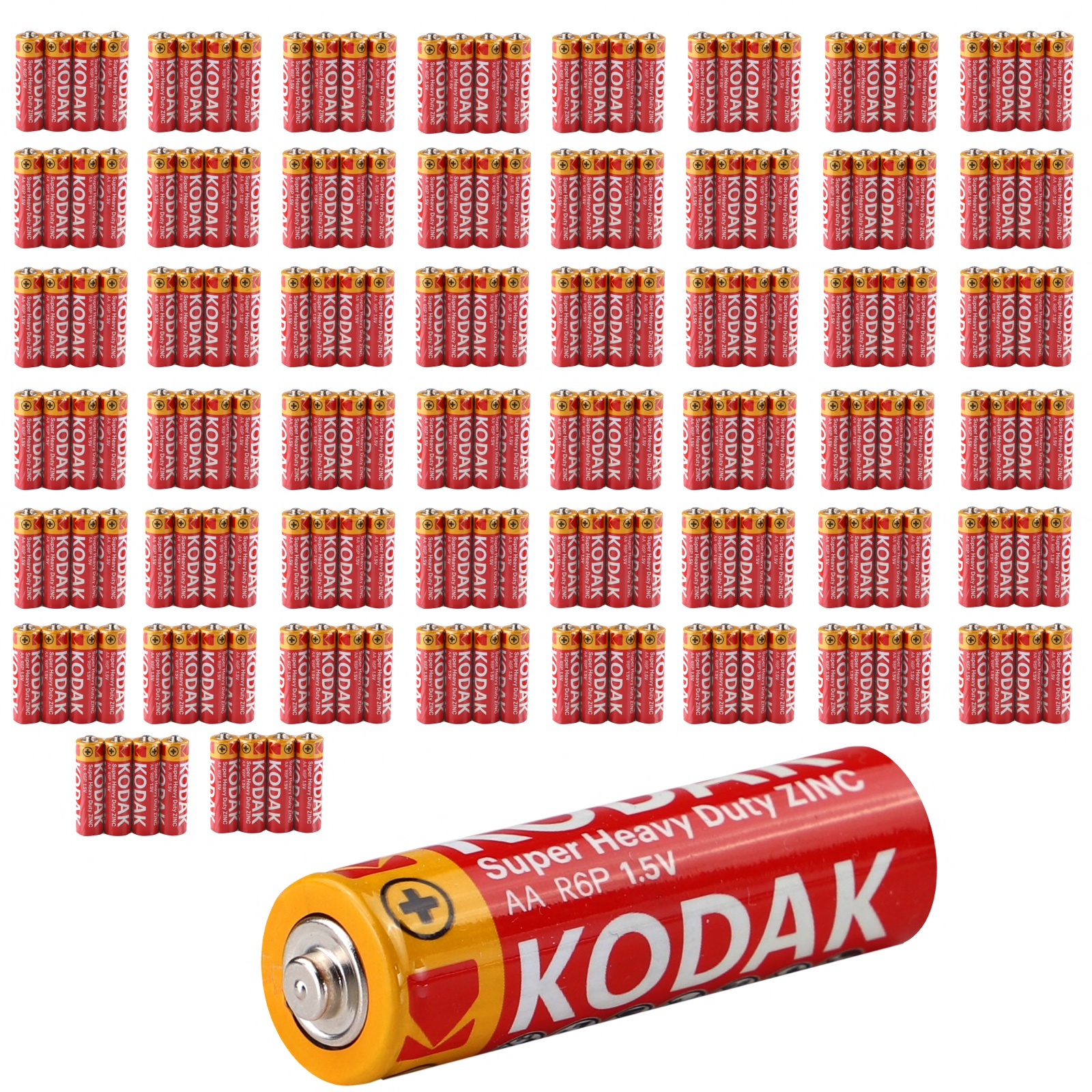 Kodak Super Heavy Duty AA Micro Batterien 1200mAh 1,5V LR06 AUSWAHL