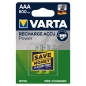 Preview: Varta Ready2Use HR03 Micro (AAA)-Akku NiMH 800 mAh 1.2 V 2 St.