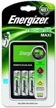 Energizer Charger MAXI inkl. 4x AA 2000 mAh ready to Use