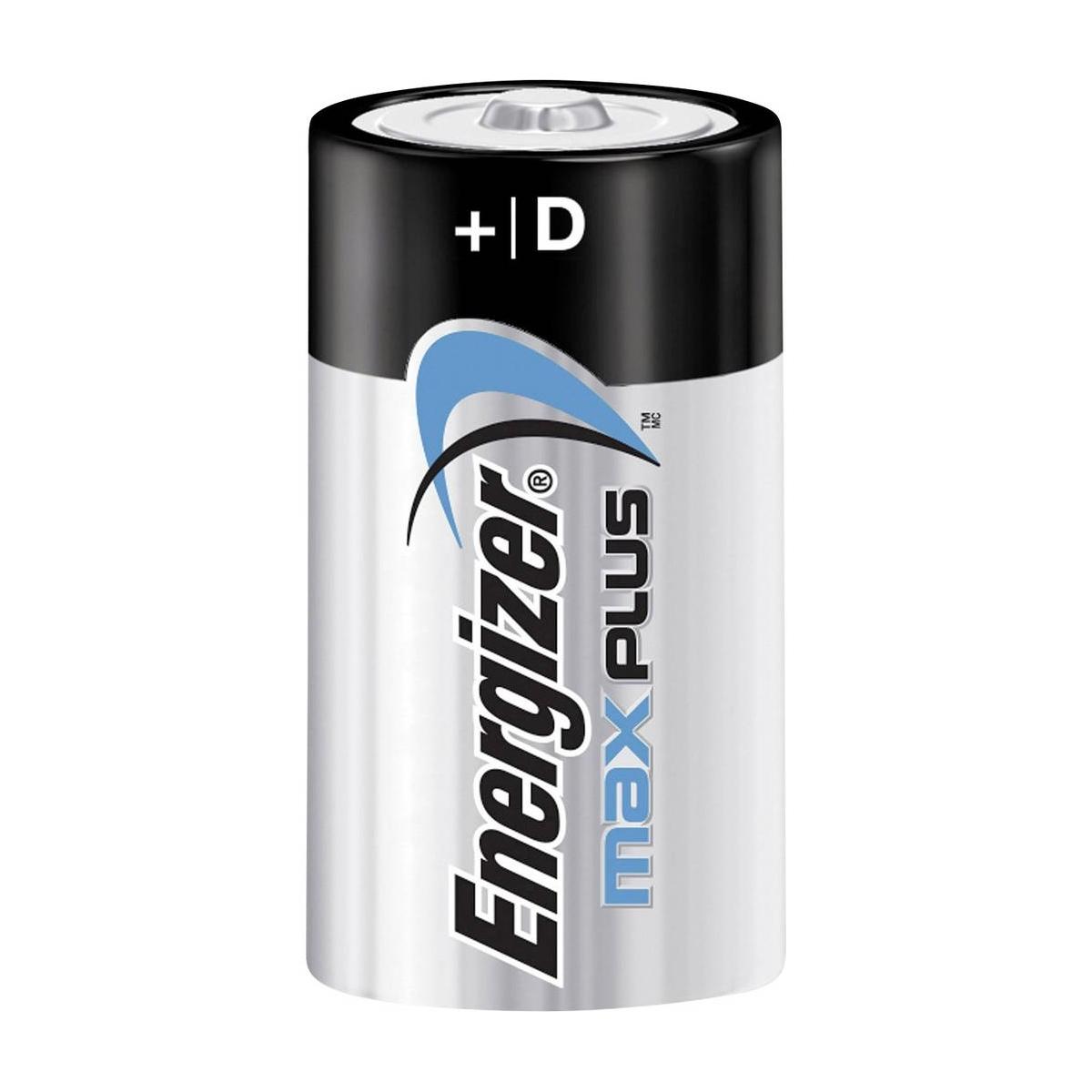 Energizer MAXPlus Batterie Mono - D - LR20 - 2er Blister
