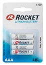 Rocket Ultimate Lithium Batterie AAA Micro L92 4er Blister