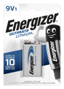 Energizer Ultimate Lithium Batterie 9V-E-Block 1er Pack