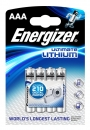 Energizer Ultimate Lithium Batterie L92 AAA Micro 4er Pack